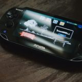 PS Vitaの本体|Photo by Aleks Dorohovich